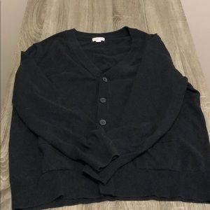 Men's long sleeve cardigan